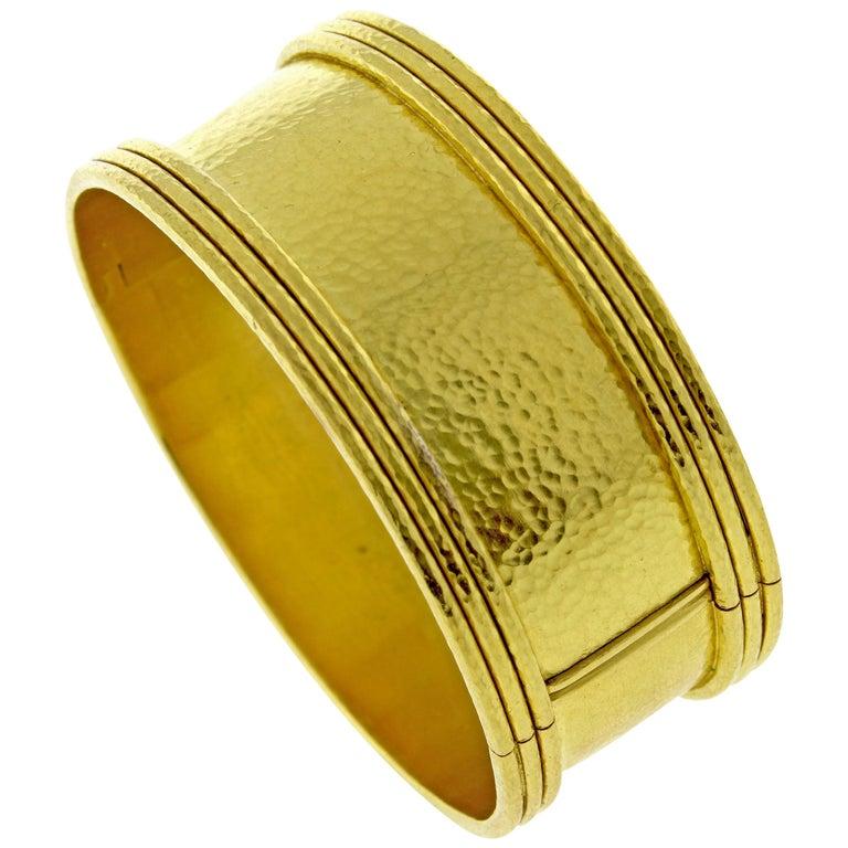 Elizabeth Locke Flat Bangle Bracelet