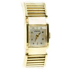 Vintage Ladies 14 Karat Yellow Gold Longines Dress Watch, 36.1 Grams