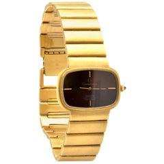 Omega Constellation Rare 18 Karat Yellow Gold Retro Watch