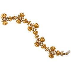 Cartier Gold and Diamond Bracelet