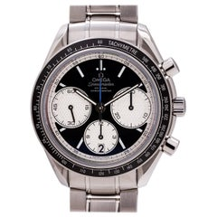 Omega stainless steel Speedmaster Reverse Panda Dial Automatic Wristwatch, 2000s