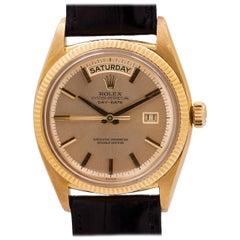 Rolex Yellow Gold Day Date self winding wristwatch Ref 6611B, circa 1959