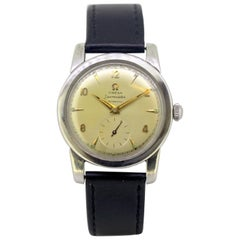 "Omega ""Seamaster"" Vintage Automatic Men's Stainless Steel Wristwatch, circa 1960"