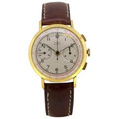 "Vintage Men's Titus ""Geneve"" Chronograph Alarm Manual Winding Wristwatch, 1950s"