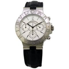 "Vintage Bvlgari ""Diagono"" Men's Automatic Wristwatch Set in 18 Karat Gold, 2000"