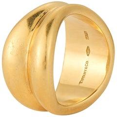 18 Karat Gold Tiffany & Co. Wave Ring