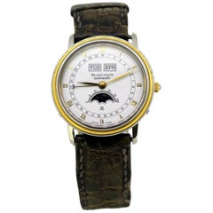 Blancpain Villeret Quantieme Men's Triple Date Moonphase Automatic Wristwatch