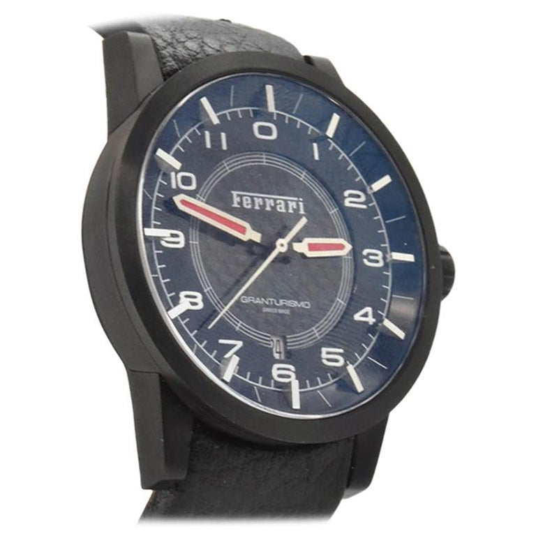 Ferrari Gran Turismo Swiss Automatic Watch FE 121PBCPBK ...