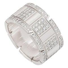 Cartier Diamond Tank Francaise Ring
