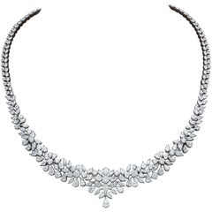 Multi Shape Diamond Necklace