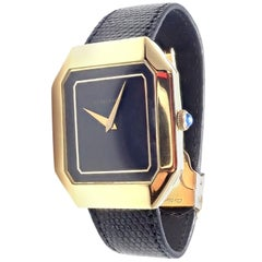 Cartier Yellow Gold Manual Wind Wristwatch