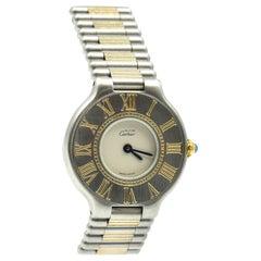 Ladies Cartier Must De 21 Two-Tone Quartz Watch