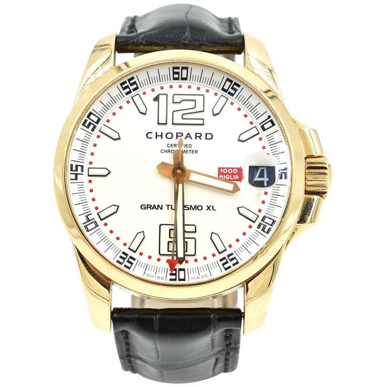 Chopard rose gold Gran Turismo Mille Miglia XL automatic Wristwatch