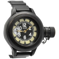 Shark Stainless Steel Black PVD Diver's mechanical Wristwatch