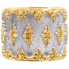 "Buccellati Band with ""Trademark"" Workmanship"