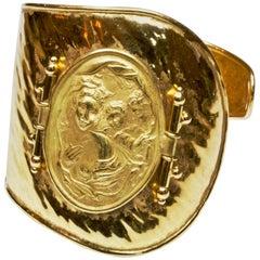 Italian 18 Carat Gold Wrap Bangle