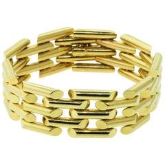 Vintage 1950s Gold Bracelet