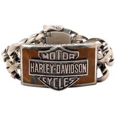 Harley Davidson Thierry Martino Sterling Silver Bracelet