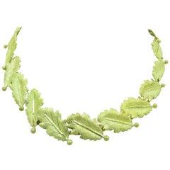 Mario Buccellati 18 Karat Yellow Gold Necklace