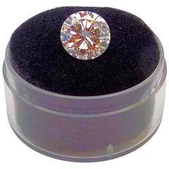GIA Certified 2.11 Carat Round Brilliant Diamond