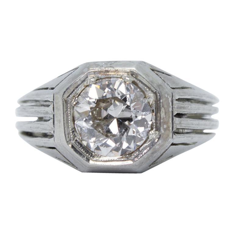 Old European Cut Diamantringe 207 Bei