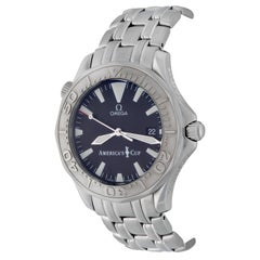 Omega Stainless Steel Seamaster America's Cup Automatic Wristwatch
