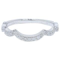 Neil Lane Diamant Ehering Bandring 14 Karat Weißgold