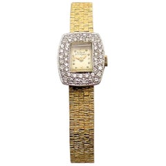 Ladies Diamond Girard Perregaux Wristwatch