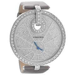 Captive de Cartier Watch White Gold Diamond, High Jewelry Extra Large