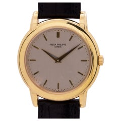 Patek Philippe Yellow Gold Calatrava automatic wristwatch Ref 5032 , circa 1990s