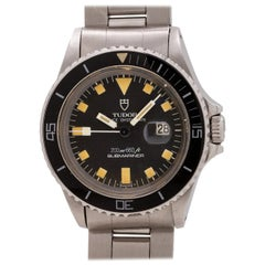 Tudor Stainless Steel Submariner Midsize Automatic Wristwatch Ref 94400