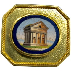 Elizabeth Locke Micro Mosaic Pendant or Brooch