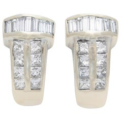 1.40 Carat Diamond Earrings