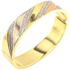 Adriano Chimento 2.20 Carat Diamond and Gold Bracelet