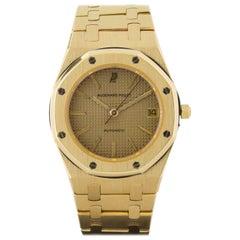 Audemars Piguet Yellow Gold Royal Oak automatic Wristwatch, circa 1990s