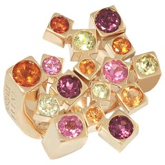 Pasquale Bruni 18 Karat Yellow Gold Quartz Ring GM369 12477G-54