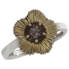 Pasquale Bruni 18 Karat Yellow Gold Brown Quartz Ring 1110250-50