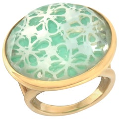 Ippolita 18 Karat Gold Rock Candy Round Cutout Doublet Ring in Isola GR428ISOLA
