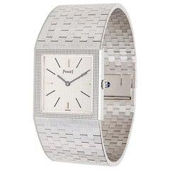 Piaget Dress 9131 04 Ladies Watch in 18 Karat White Gold