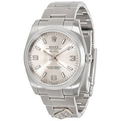 Rolex Air King Dominos 114200 Automatic Men's Watch in Stainless Steel