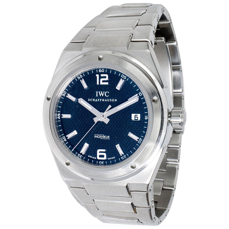 detailed look 45c3d 5e1a3 IWC Ingenieur IW323902 Men's Watch in Stainless Steel