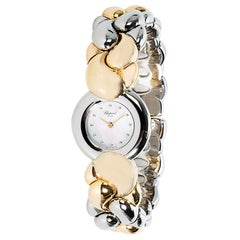 Chopard 'Geneve' Women's Watch in 18 Karat Yellow Gold Mother-of-Pearl Dial