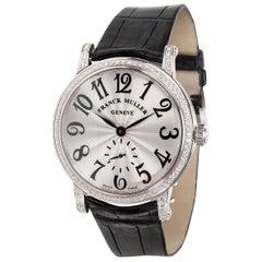 Franck Muller Diamond Dress 7391 B S6 D Men's Watch in 18 Karat White Gold