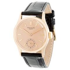 Patek Philippe Calatrava 96R Unisex Watch in Rose Gold