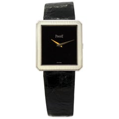 """Piaget """"Protocole"""" Ladies 18 Karat Gold Manual Winding Wristwatch, circa 1990s"""