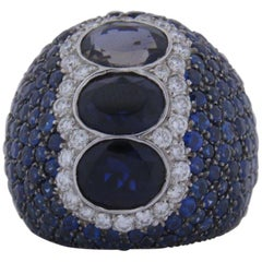 Blue Sapphire Ring 399-10009