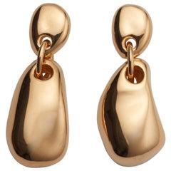 AGMES Gold Vermeil Drop Earrings