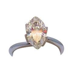 GIA Certified 1.43 Carat Marquis Cut Diamond