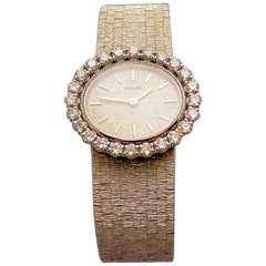 Concord Ladies White Gold Diamond Wristwatch
