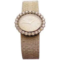 White Gold and Diamond Ladies Concord Wristwatch